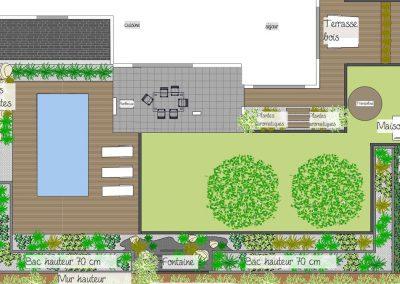 Création Plan de jardin