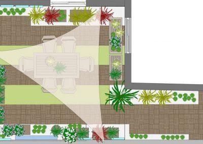 Conception Plan petit jardin