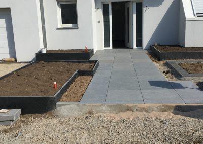 paysagiste eden-design-travaux-en-cours-allee-granit
