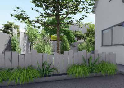 Idées jardin bois photo