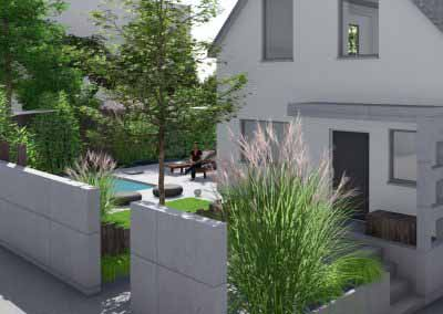 Plan jardin 3d paysagiste