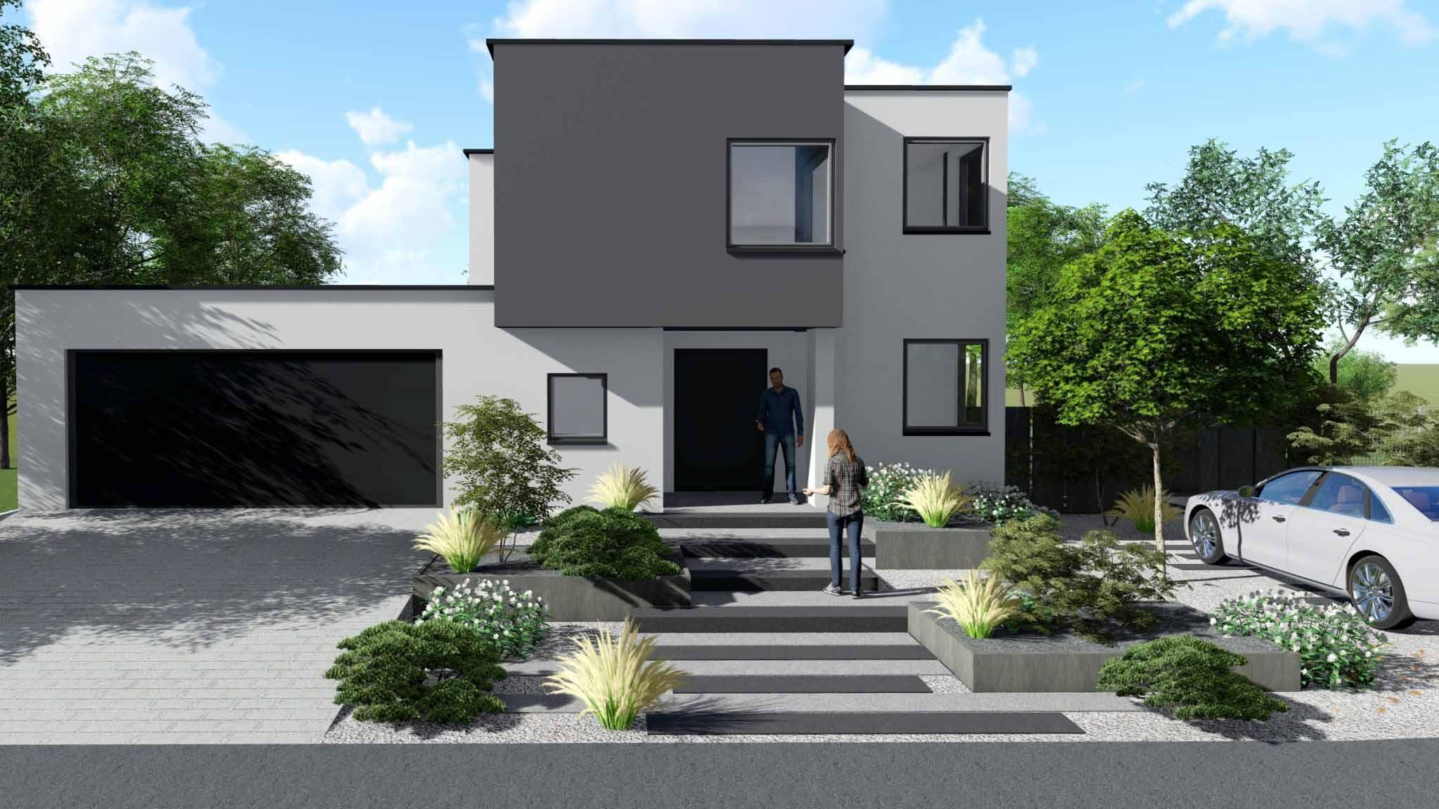 Architecte paysagiste image 3D jardin
