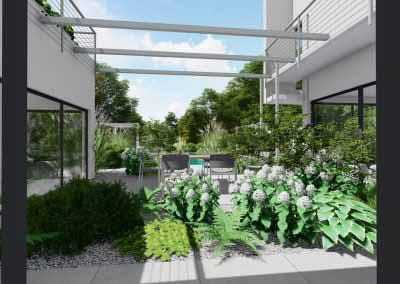 3d terrasse jardin