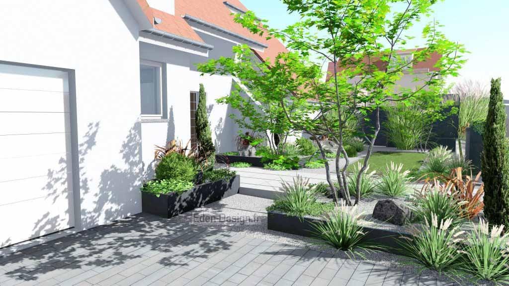 Jardin 3d paysagiste Erstein