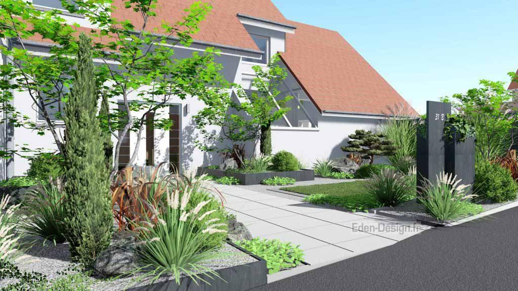 Jardin 3d paysagiste Obernai