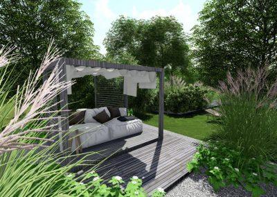 Aménagement terrasse pergola