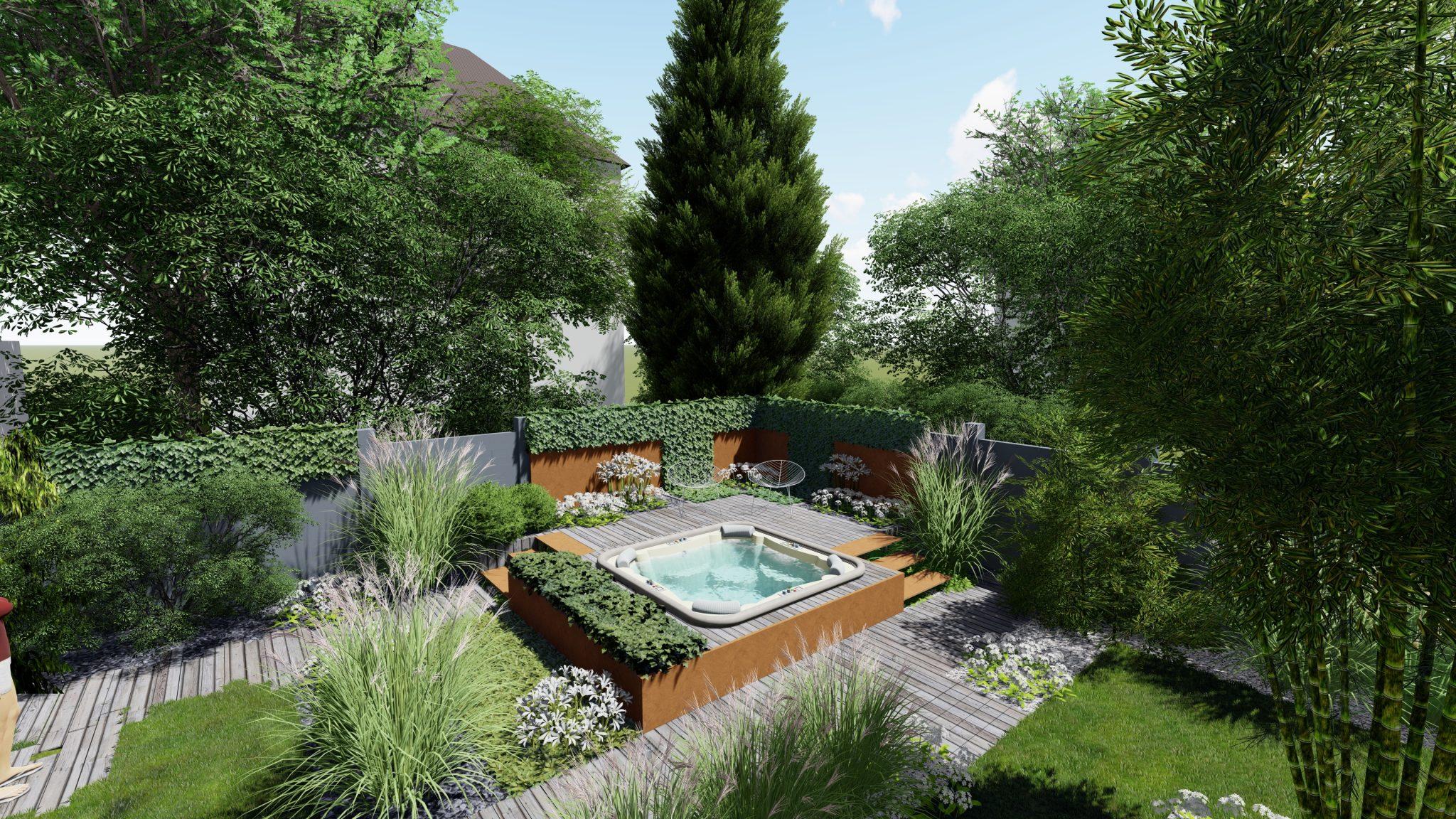Architecte Paysagiste Strasbourg Jardin 3D Spa