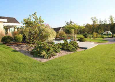 Ré-aménagement grand Jardin avec Bassin
