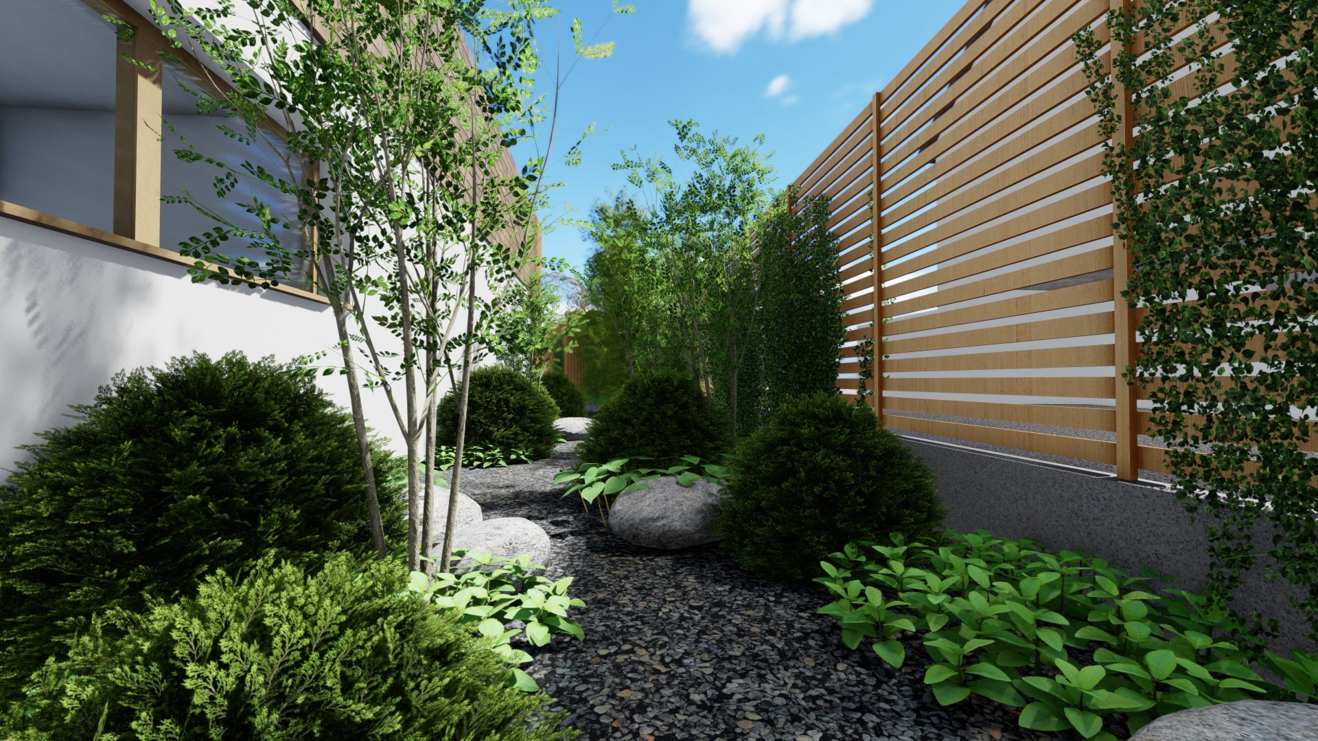 Architecte paysagiste 67-Patio jardin zen