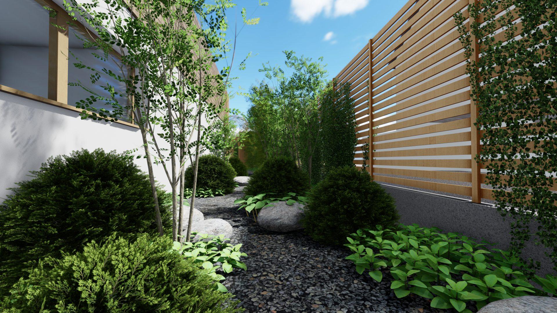 Architecte paysagiste 67-Patio jardin zen