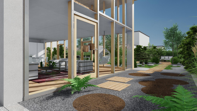 Paysagiste Bas Rhin plans 3D