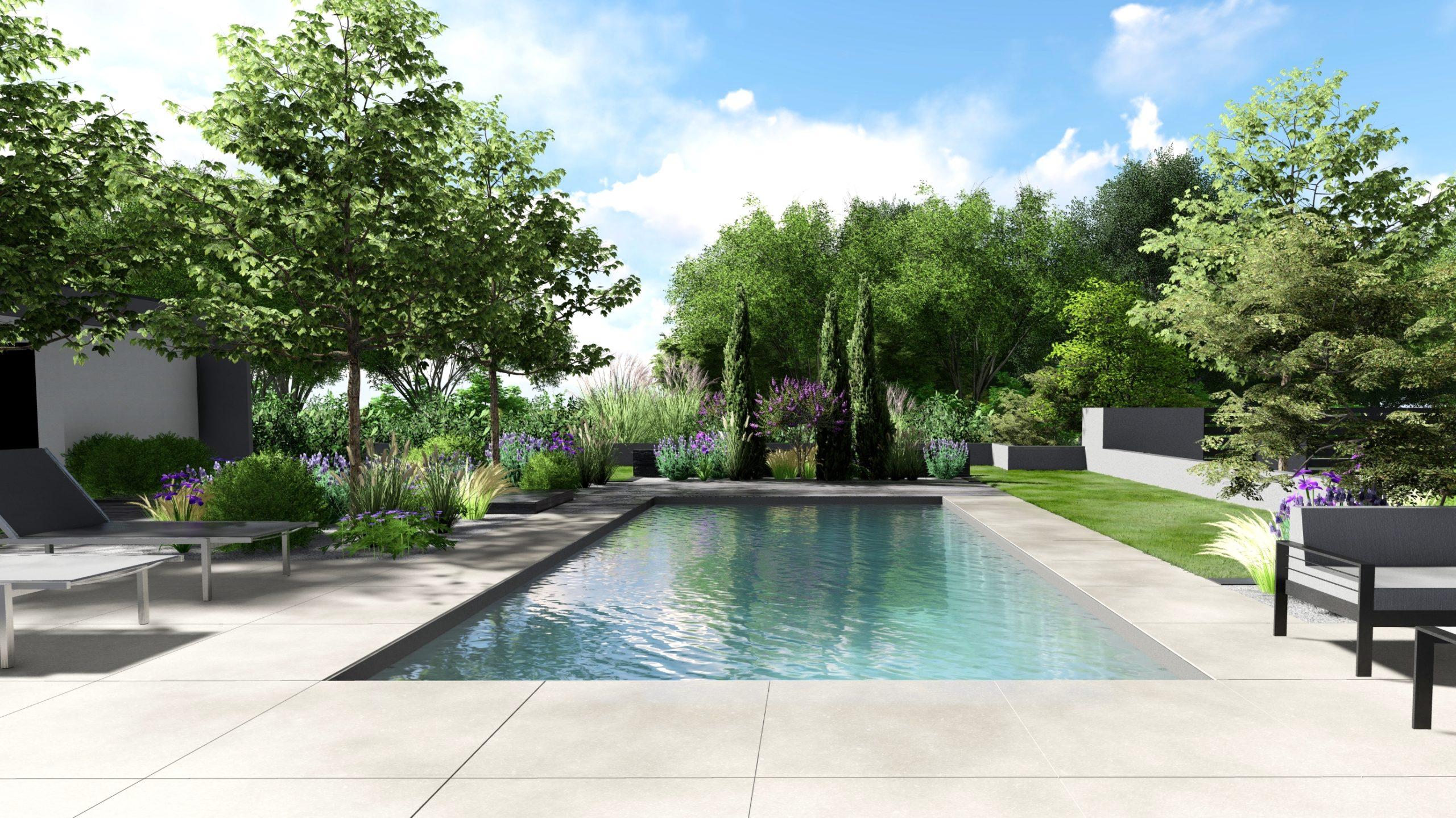 Architecte paysagiste piscine