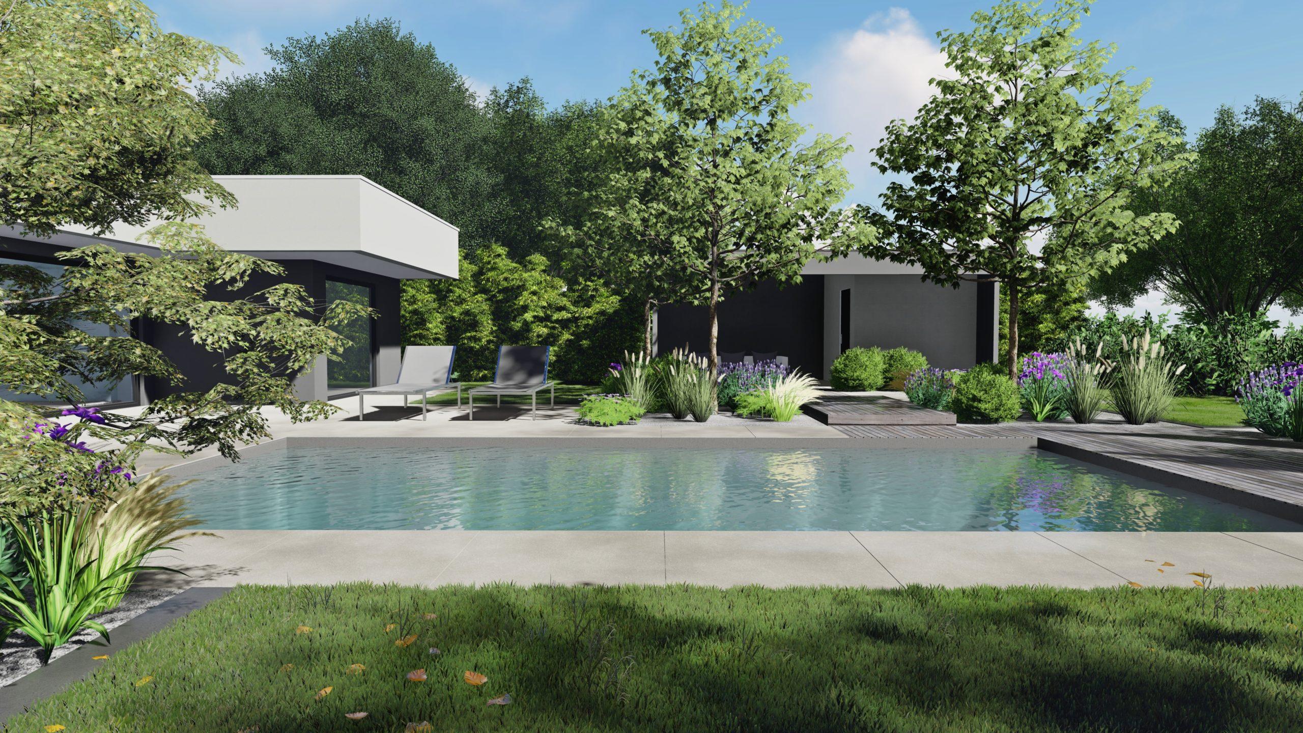 Paysagiste Architecte d'extérieur piscine