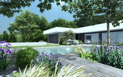 Plans de jardin et conception 3D d'un projet paysager près de Colmar
