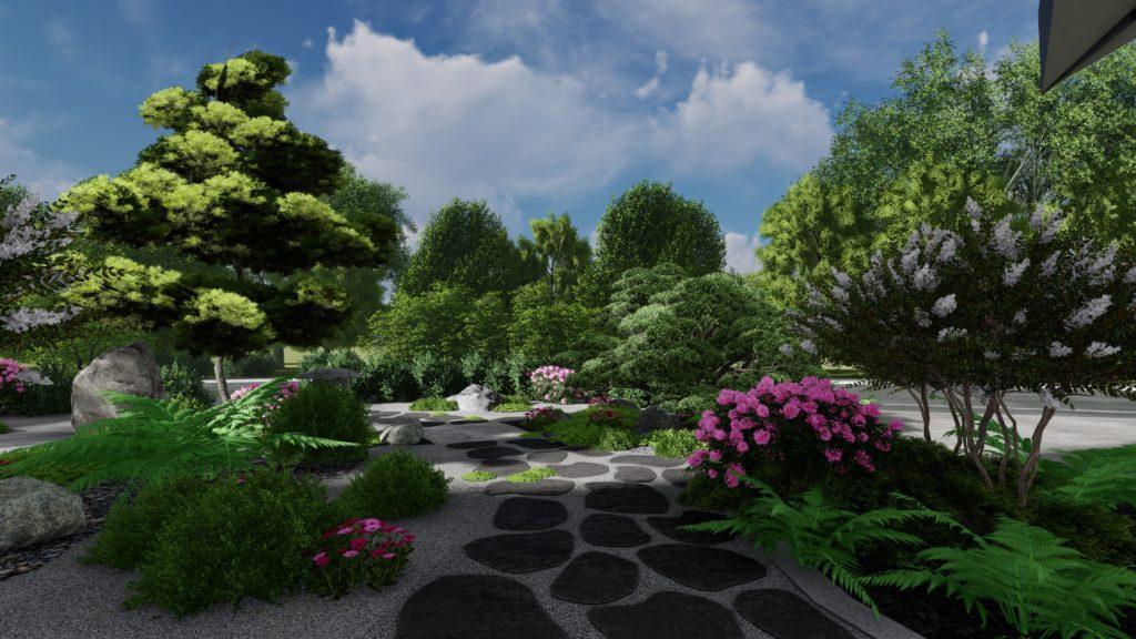 Architecte Paysagiste jardin Japonais