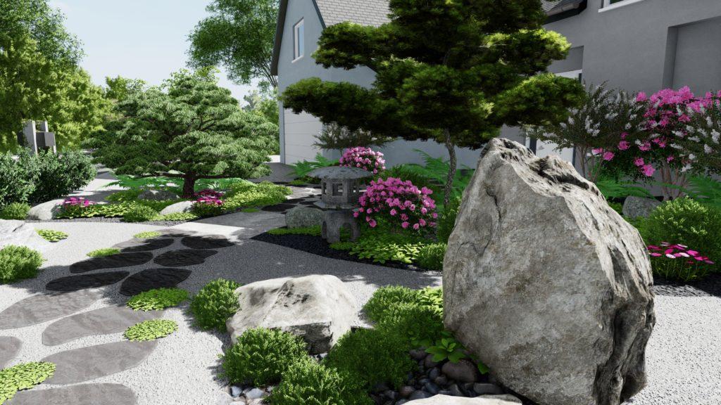 Conception jardin Japonais Paysagiste