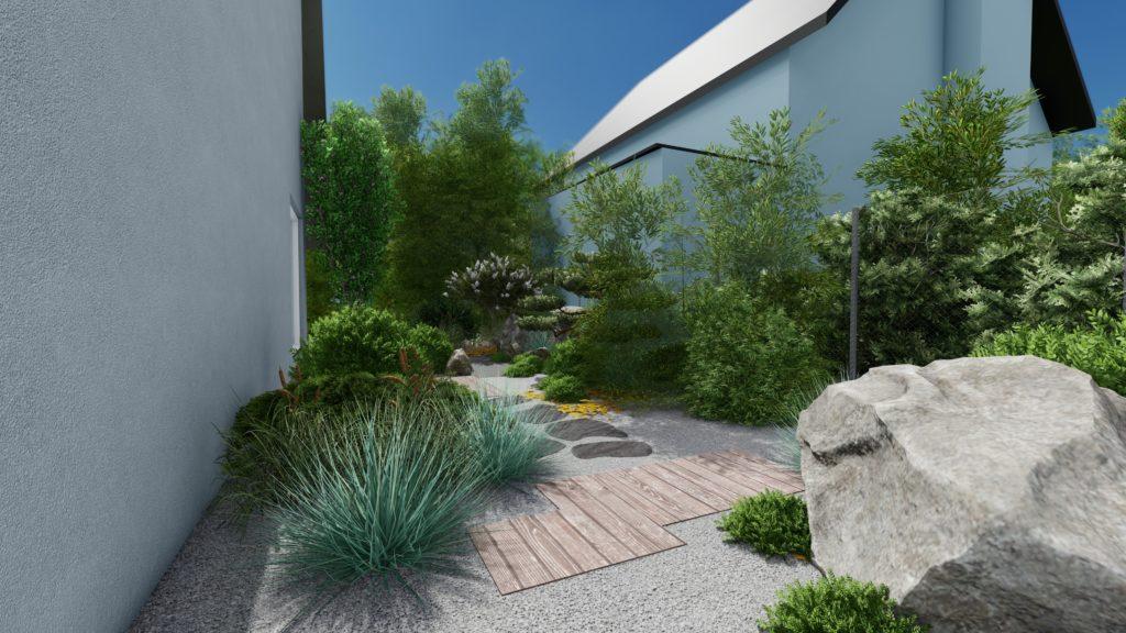 Espace paysager conçu par Eden Design