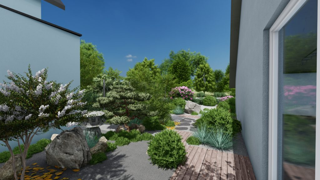 Aménagement jardin japonais paysagiste