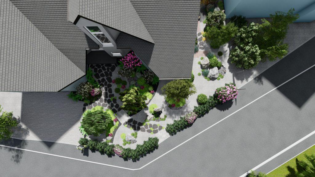 Paysagiste Alsace Plan de Jardin 3D