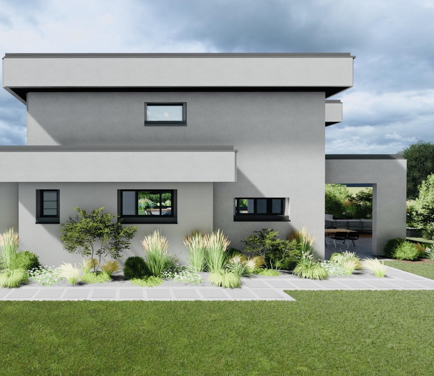 Architecte extérieur design 3d