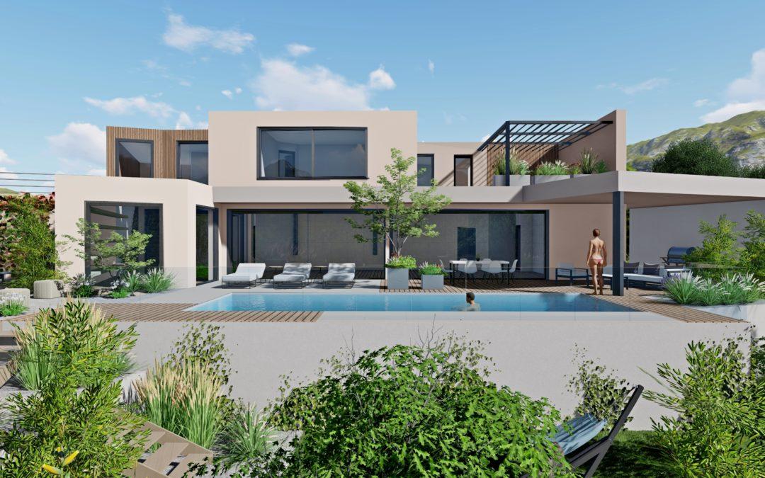 Architecture Paysagiste Maison design Selestat Villé