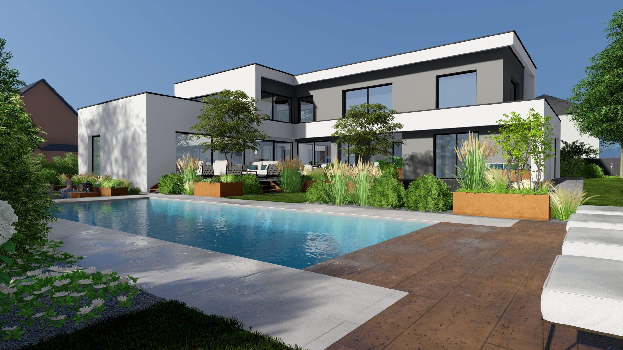 architecte extérieur Strasbourg piscine