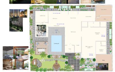 La conception de jardins en ligne, n'a pas de limites…Projet sur Dubaï